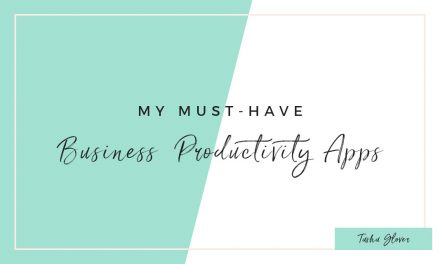My Must-Have Business Productivity Apps