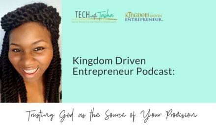 KDE Podcast: Trusting God as the Source of Your Provision